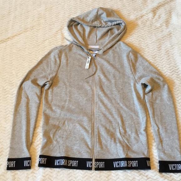 32dd11273f96c VS Victoria sport hoodie Size M NWT